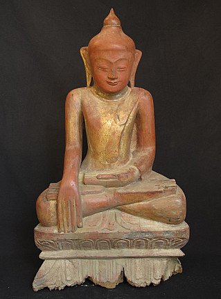 Antique Burmese Ava Buddha